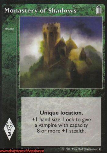 Master SABBATr Monastery of Shadows VTES V:TES