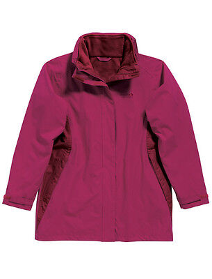 Women/'s Regatta /'Mayzy 3-in-1/' /'Dark Cerise/' Waterproof /& Windproof Jacket.