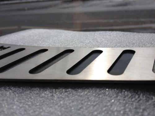 VW Polo 9N Repose-Pieds Exclusive Avec OEM Caoutchouc Noir Soutien-Plain