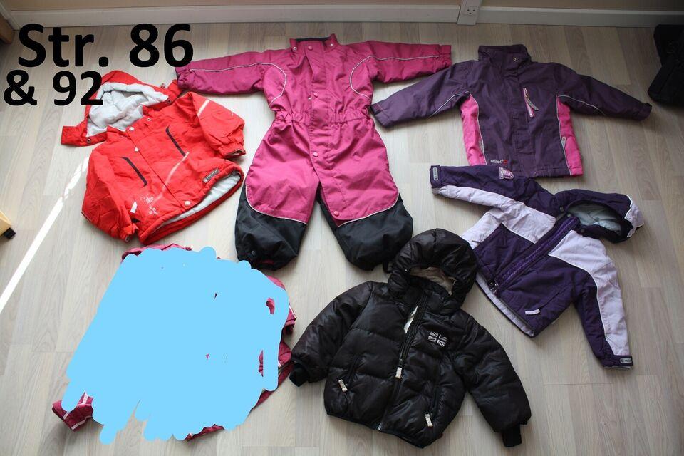 Blandet tøj, pigetøjpakke str. 86/92, småfolk
