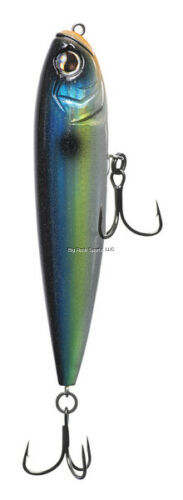 New 13 Fishing Dual Pitch 108 Lure HD Holographic Eye Stunner E-DP108-S