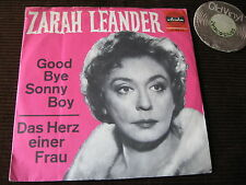 "7"" SINGLE Zarah Leander Good Bye Sonny Boy Germany 50s / 60s  | VG+"