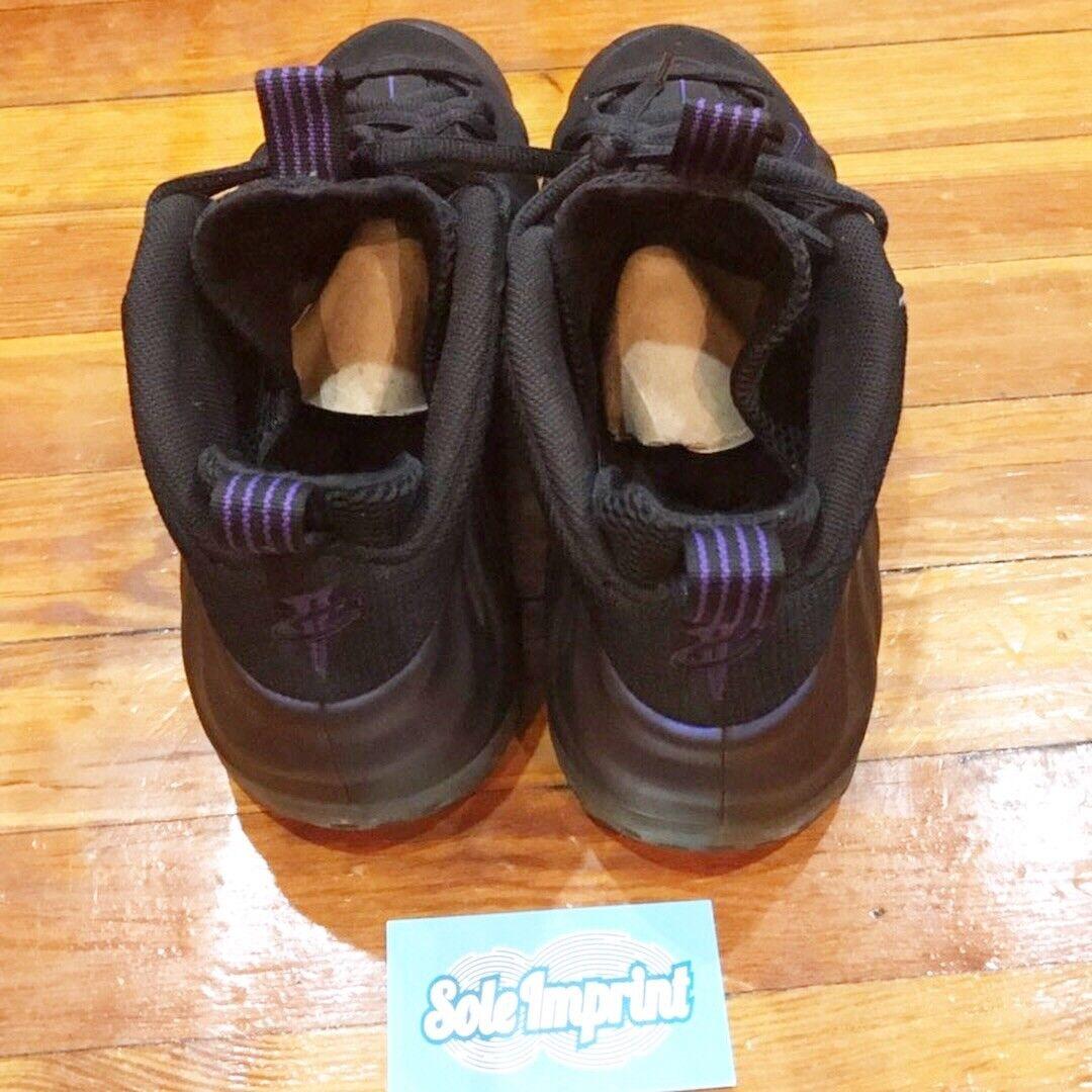 nike air foamposite eine / aubergine irisierenden violett 2009 8 / eine 10 8e4ede