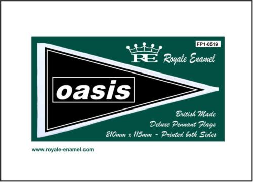 ROYALE ANTENNA PENNANT FLAG OASIS GALLAGHER FP1.0519