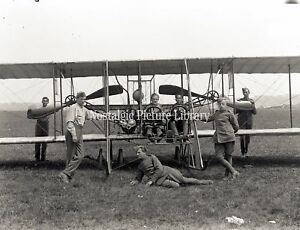 AV 282 PHOTOGRAPH OF ROYAL FLYING CORPS. AT HENDON c 1913
