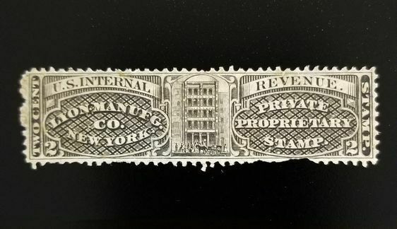 Lyon Manufg. Co. 2c U.S. Internal Revenue RS168b Privat