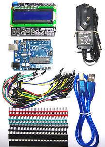 Arduino-UNO-Rev3-Compat-Aliment-12VDC-1A-Placa-BBoard-de-400-Puntos-65-Cables