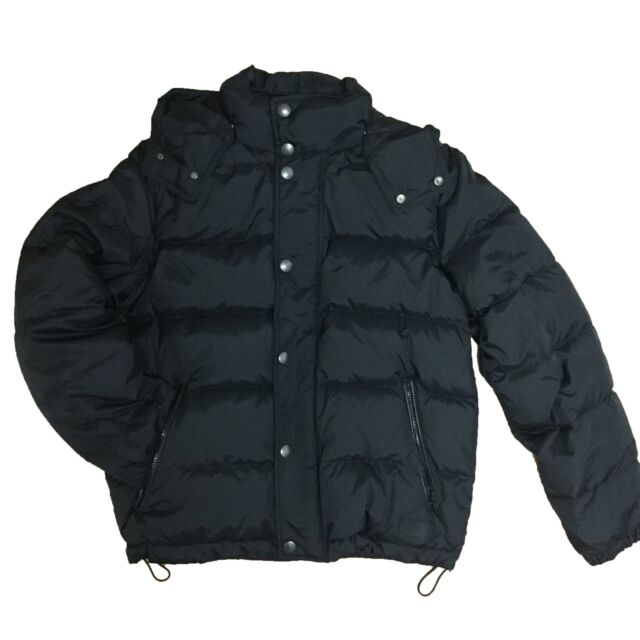 85548adfe Arctic Expedition Mens Down Bomber Winter Jacket With Removable Hood ...