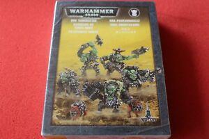 Atelier de jeux Warhammer 40k Ork Tankbustas Squad Bnib Figurines en Métal Orks Army