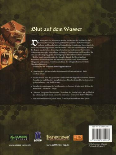 KÖNIGSMACHER #4 neu BLUT UM BLUT Pathfinder Abenteuerpfad 16