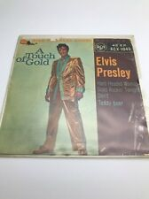 """Elvis Presley(7"""" Vinyl P/S)A Touch Of Gold EP-RCA-RCX 1045-65-1963-VG/VG"""