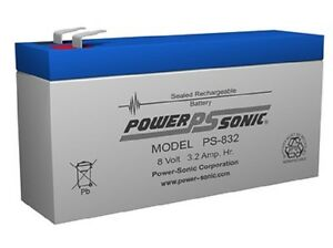 BATTERY-COMPATIBLE-WITH-UB830-UNIVERSAL-POWER-GROUP-8V-3-2AH-EACH