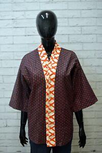 CUSTO-BARCELONA-Donna-Giacca-Cotone-Taglia-52-Blazer-Vintage-Woman-Jacket-Kimono