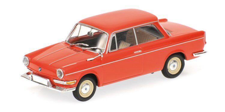BMW 700l 1960 rouge 1 43 MODEL 430023704 MINICHAMPS