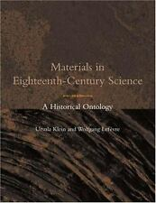 Materials in Eighteenth-Century Science: A Historical Ontology (Transf-ExLibrary