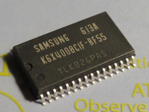 K6X4008C1F-BF55 512Kx8 bit Low Power full CMOS Static RAM 55ns Samsung