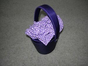 JEWELLERY CASE in PURPLE in Shape of a Basket  New and Labelled - Beccles, United Kingdom - JEWELLERY CASE in PURPLE in Shape of a Basket  New and Labelled - Beccles, United Kingdom