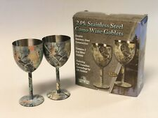 Rivers Edge Products REP097 Camo Pint Glasses 2 pack River/'s Edge Products