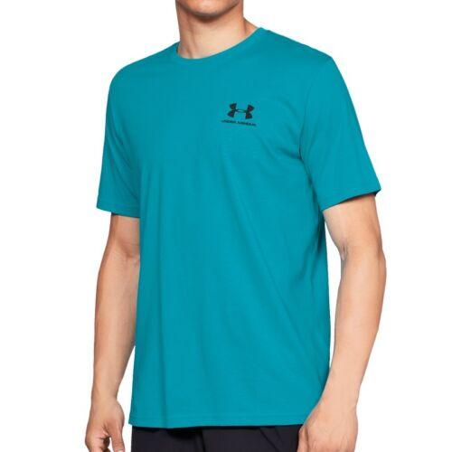 Herren Fitnessshirt 1326799-439 Under Armour Sportstyle Left Chest SS Tee