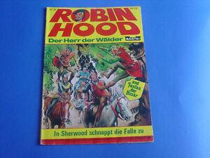 Robin-Hood-ComicHeft-Nr-34-Original-Bastei-Verlag-alt-selten-top