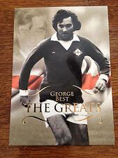 2011 Futera Greats Unique Soccer Card - GEORGE BEST Mint