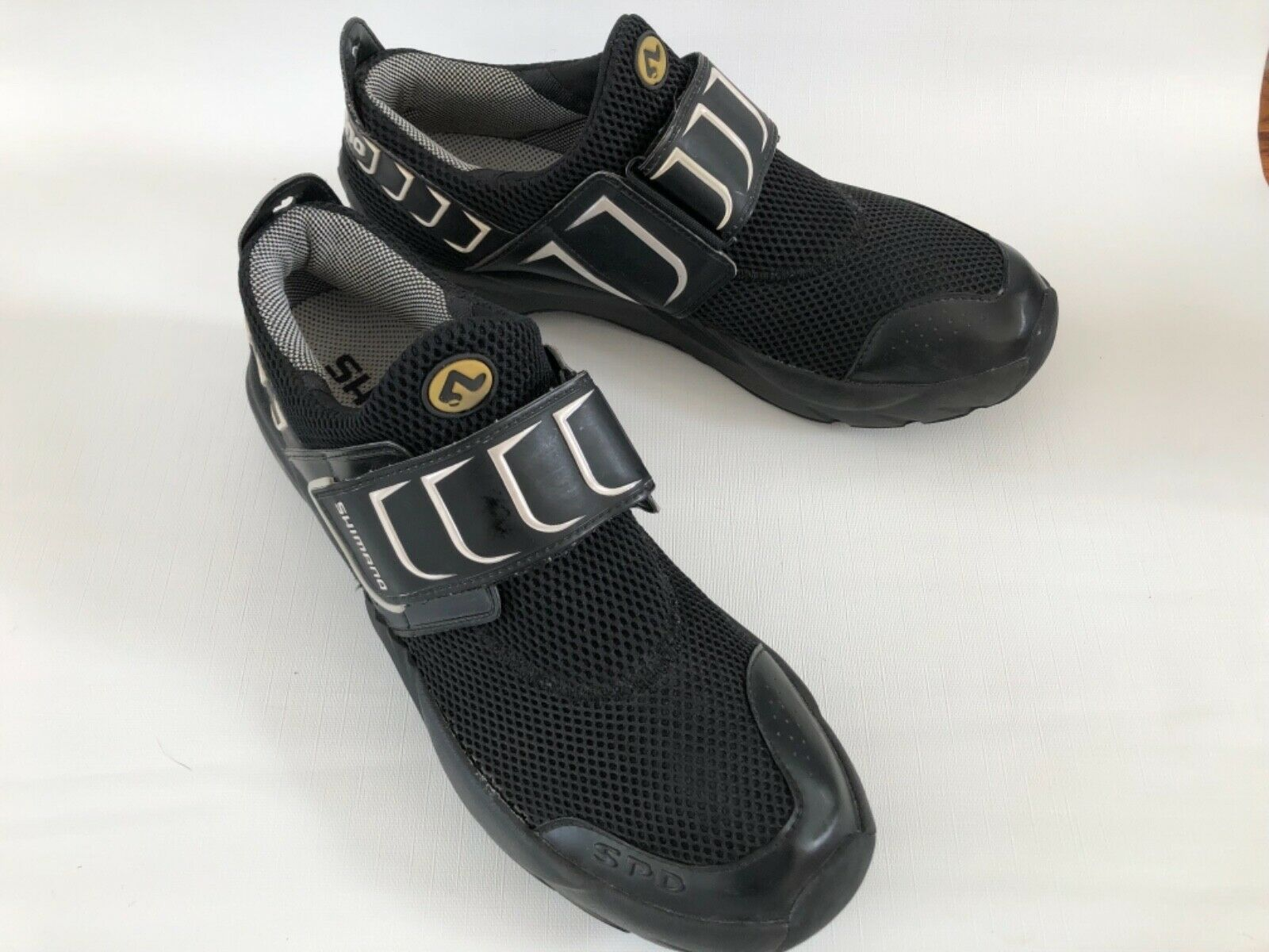 Shimano SH-FN01  SPD Slip On Strap Bike Cycling Cleats shoes Men's Sz 12.5  2018 latest