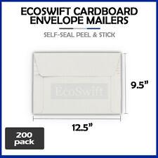 200 125 X 95 Self Seal White Photo Ship Flats Cardboard Envelope Mailers