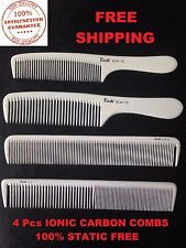 Kashi Professional Carbon Ionic Comb 100 Static ( 4 Pcs Set )