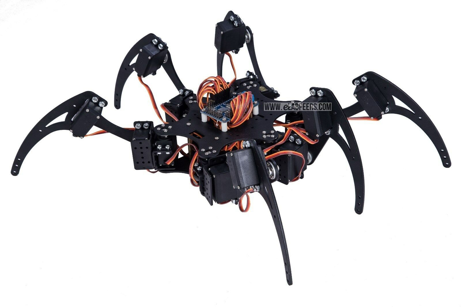 Spider Robot Set 18 DOF (With Servo, Arduino controllable, ship from USA)