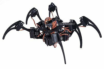 Spider Robot Body 18 DOF (Body only, Arduino Controllable, from USA)