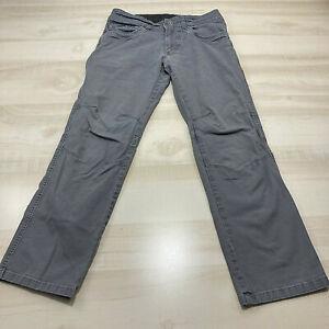 Kuhl Pants Mens 30x30 Gray Patina Dye Camping Hiking 5 Pocket   Measures 30x28
