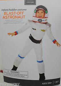 Halloween Infant Toddler Blast Off Astronaut Costume Size ...