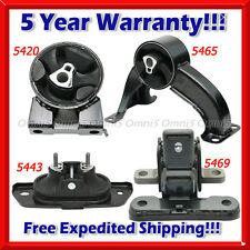 M123 Fits 2013-2014 Chrysler 200 2.4L AUTO Engine Motor & Trans Mount Set 4pcs