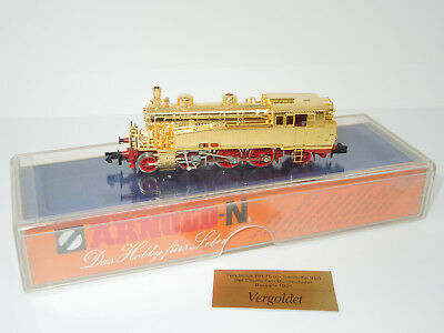 Arnold Spur N 2710 Locomotiva Br 75 Dorato-mostra Il Titolo Originale Novel (In) Design;