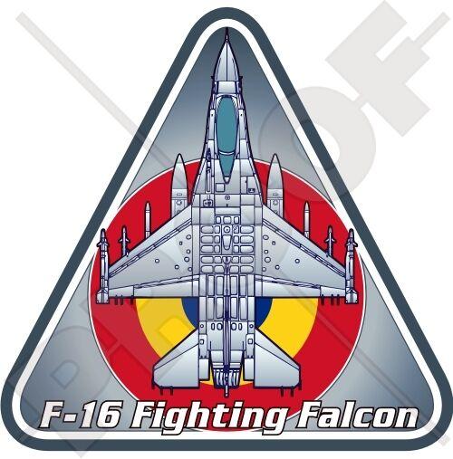 General Dynamics F-16 Fighting Falcon#20 Desert Storm 1991 Merlin Sticker C959