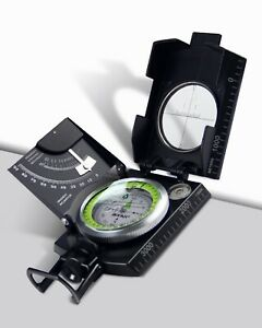 AOFAR Military Compass AF-4074 Hiking Survival Marching Camping Waterproof