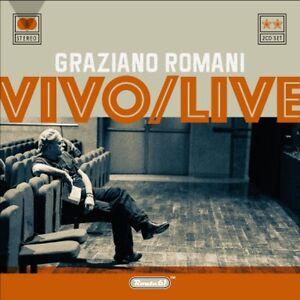 GRAZIANO-ROMANI-Vivo-Live-2CD-rock