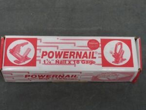 POWERNAIL 1-1/4 in. x 18-Gauge Powercleats Hardwood Flooring Nails (1000-Pack)