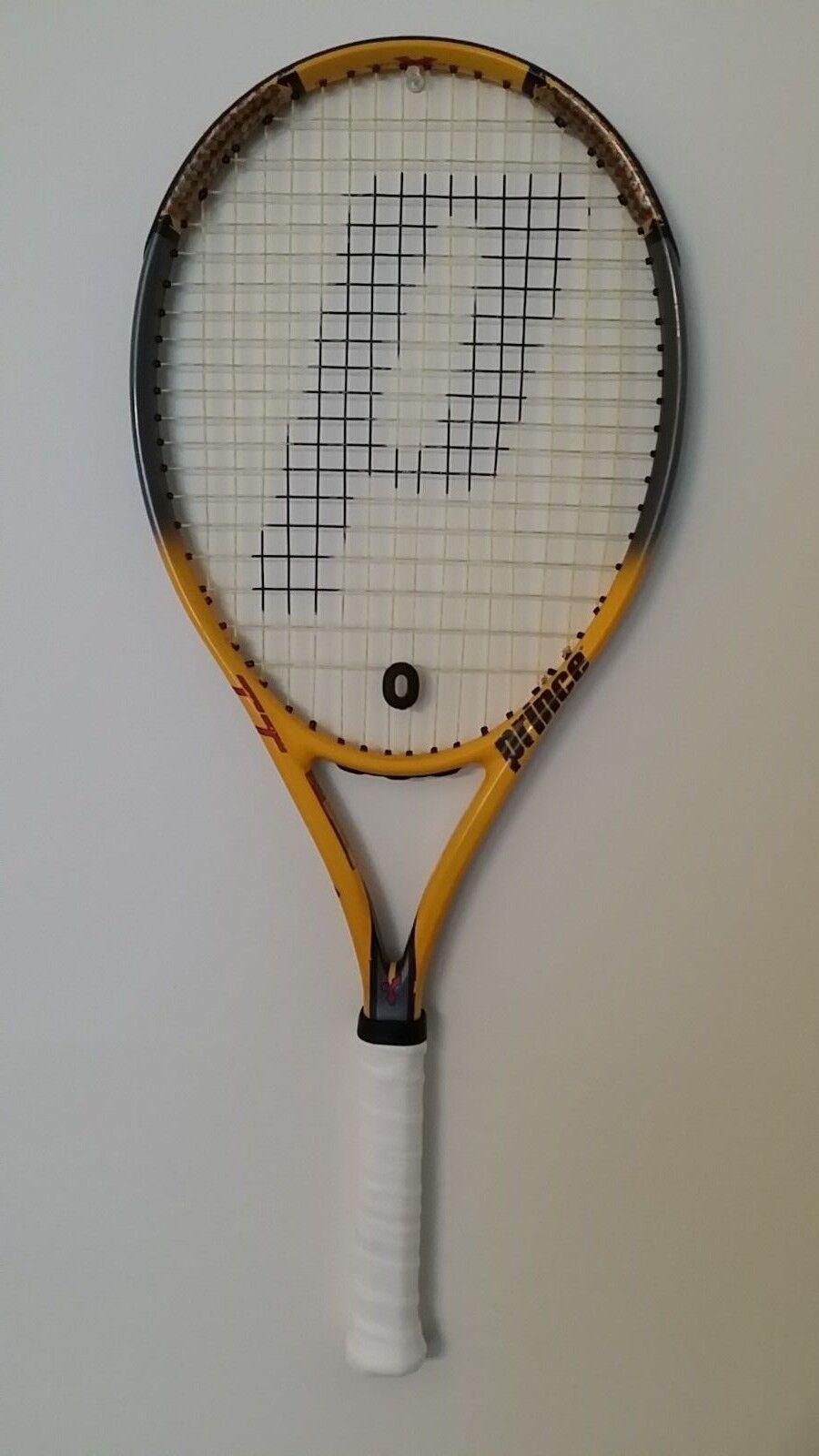El príncipe TT grito os triple amenaza tenis raqueta 4 1 4