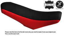 Rojo y Negro Rieju MRT 50 DUAL CUSTOM se ajusta de piel cubierta de asiento