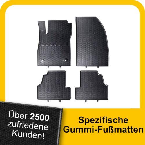 Für Opel Mokka ab 12 Gummimatten Fußmatten Original Qualität Kpl.