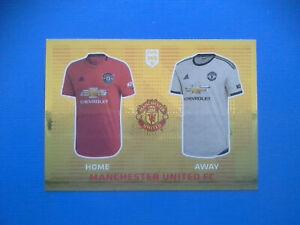 Figurine-Panini-Fifa-365-2019-20-2020-n-59-T-shirt-Manchester-United