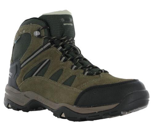 Hi-Tec Bandera II Waterproof Boot Leather Standard Fit Lace Walking Hiking Mens