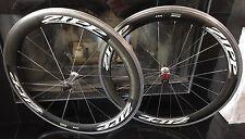 Zipp 404 Carbon Clincher Wheelset 700c Road Bike Shimano 10 Speed