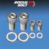 Sbc Fuel Pump Block-off Bolts Stainless Steel Kit Small Block Chevy 327 350 400