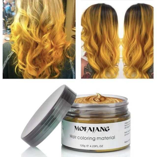Vakker Hair Wax Color Styling Cream Mud Natural Hairstyle Dye Pomade Party For Sale Online Ebay