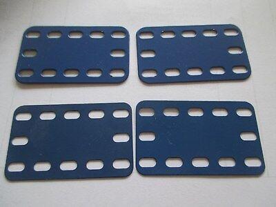 Märklin  Verkleidungsplatte 5 x 9 Loch unbespielt !! blau//blau