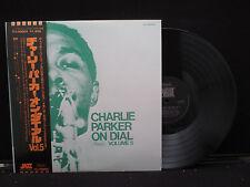 Charlie Parker - On Dial Vol 5 on Stateside Records ITJ50005 Japanese w. OBI