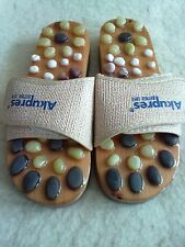 ACUPRESSURE WITH STONES SLIMMING MASSAGE SHOES FLIP FLOPS AKUPRES BETTER LIFE