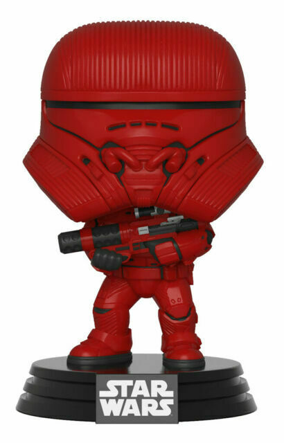 Funko Pop Movies Star Wars Sith Jet Trooper Red Vinyl Figure For Sale Online Ebay